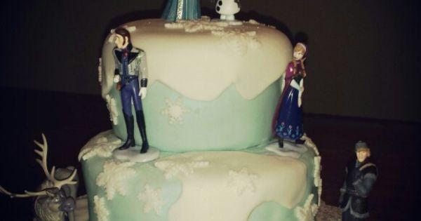 Frozen Themed Cake Seattle