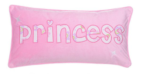 This Pink 'Princess' Pillow by Levtex Home is perfect! # ...
