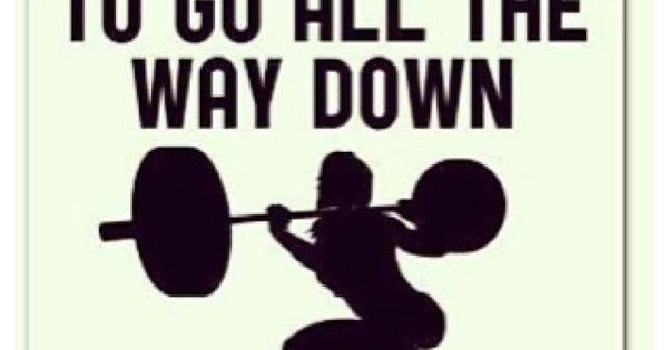 Get your mind out of the gutter & squat! | Workout humor ...