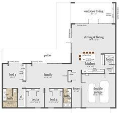 Vintage L Shaped House Plans Found In Pacific Northwest Google Search Unique House Plans Modern House Plans L Shaped House Plans