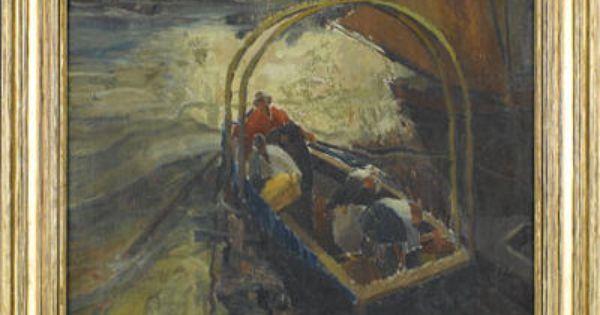 Anthony Angarola River Artist Painting Art
