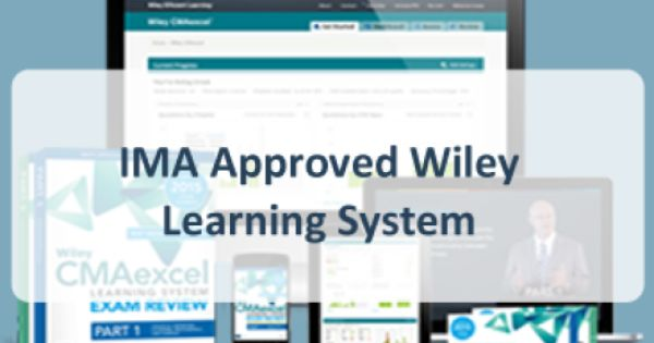 Original Wiley Study Materials For Cma Part 1 And Part 2 Courses