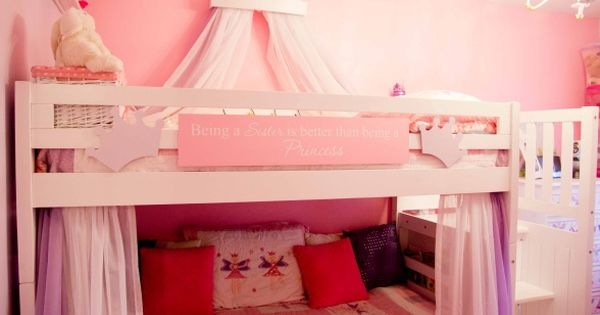 Fairy Princess Bunk Beds Girls Room Girls Designs