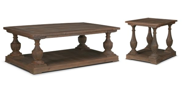 American Signature Furniture Provence Occasional Tables Collection Cocktail Table