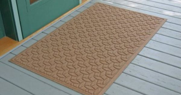 3 X 5 Brown Ellipse Waterhog Doormat Medium Brown 5 H X 36 W X 60 D By Bungalow 81 99 Stops Mud And Water Bungalow Flooring Outdoor Door Mat Door Mat