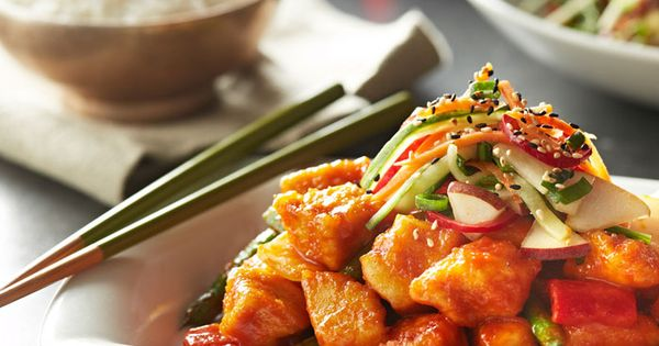 Ever had Korean BBQ? Enjoy the new chicken with sweet ...