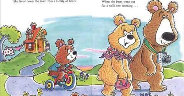 Goatilocks And The Three Bears Youtube Bear Storybook Disney Characters
