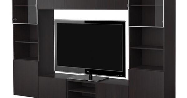 BESTÅ Mobile TV, combinazione IKEA Ante con pannello, per proteggere ...