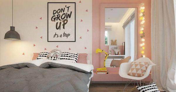 jugendzimmer in rosa grau und wei gehalten wohnen kinder pinterest grau und wei rosa. Black Bedroom Furniture Sets. Home Design Ideas