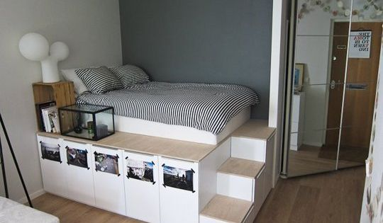 IKEA DIY Ideas: 6 Ways to Make Your Own Platform Bed (with