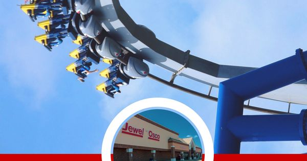 Jewel Discount Six Flags Tickets Six Flags Great America Flag