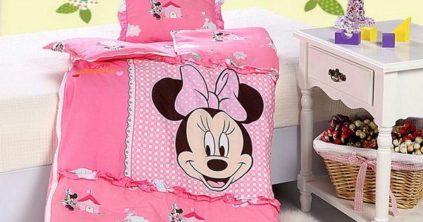 Minnie mouse style3 pink disney sleeping bag sets disney sleeping