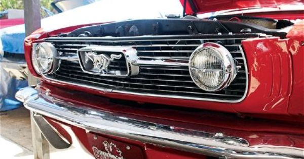Installing Classic Ford Mustang Fog Lights Mustang Monthly Magazine Mustang Vintage Mustang Ford Mustang