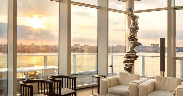 Elegance in the Meatpacking District NYC by architect Richard Meier