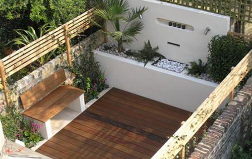 Fotos de dise o de jardines peque os terrazas for Disenos de jardines exteriores pequenos