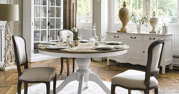 meubles d co d int rieur classique chic maisons du monde tables pinterest maison. Black Bedroom Furniture Sets. Home Design Ideas