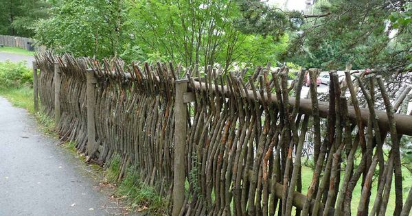 The Green Garden Gate Natural Norwegian Fences