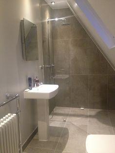 Pin By Aleksej Babichev On Loft Conversion Attic Shower Loft Bathroom Attic Remodel