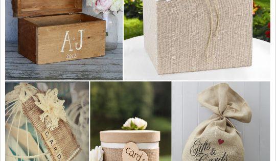 mariage rustique champ tre urne de mariage coffre en bois boite toile de jute sac en toile de. Black Bedroom Furniture Sets. Home Design Ideas