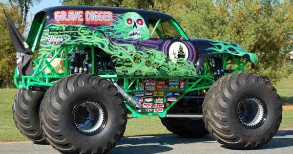 Grave Digger Monster Truck | Monster Trucks !! | Pinterest | Monster trucks, Monsters and ...