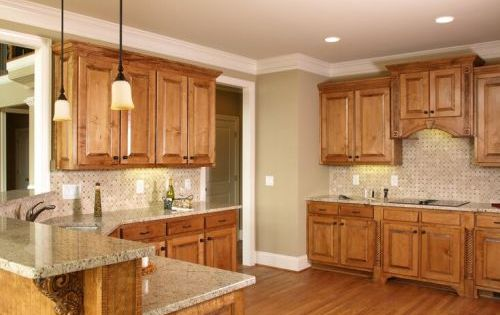 Kitchen Cabinets Wood Colors 5 top wall colors for kitchens with oak cabinets, kitchen design