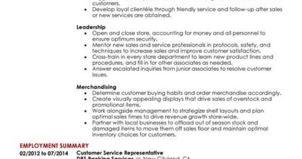 cover letter customer service team leader career job search