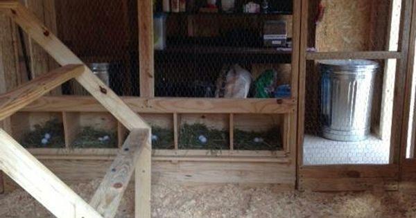 Coop interior chicken coops pinterest coops and for Chicken coop interior designs