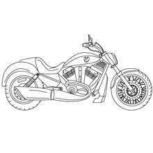 Harley Davidson Motorcycle Coloring Page Coloring Page Transportation Coloring Pages Motorcycle Coloring Pages Kleurplaten Patronen Tekenen