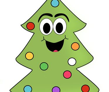 Cartoon Christmas Tree Clip Art Cartoon Christmas Tree Image Cartoon Christmas Tree Christmas Tree Images Cartoon Clip Art