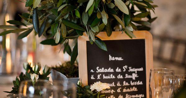 Idée centre de table pour votre mariage provençal - Olivier - Provencal