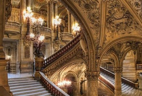 OMGosh, the architecture! Palais Garnier (Paris Opera House)