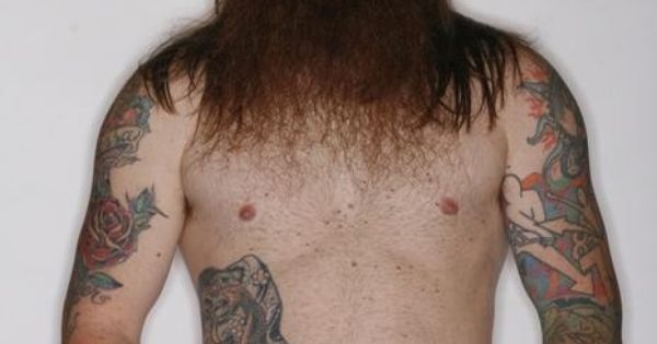 Full thick red beard and mustache long hair beards bearded for Red beard tattoo