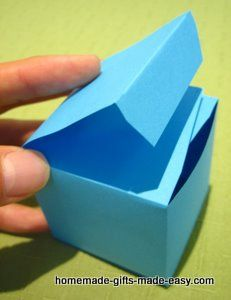 Instructions For Making Gift Boxes Paper Box Diy Making Gift Boxes Paper Box Template