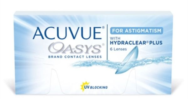 Oasys For Astigmatism Contact Lenses Acuvue 6 Pk Best Contact