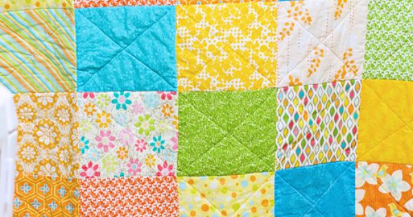 Free Zig Zag Quilt Pattern And Tutorial Picnic Quilt