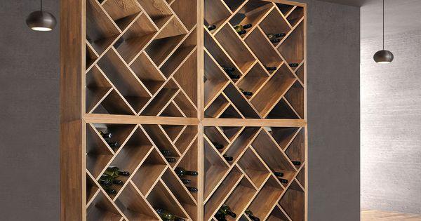 weinregal zeus natur und gebeizt in 39 weinregale holz. Black Bedroom Furniture Sets. Home Design Ideas
