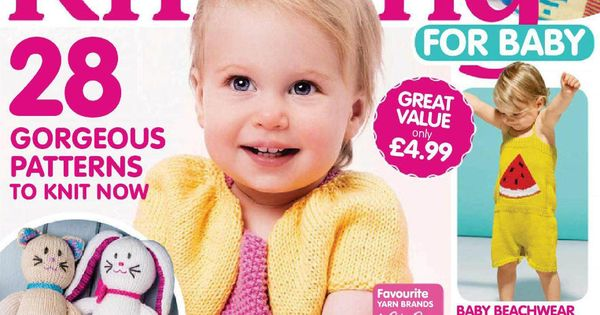 Knitting For Babies Magazine : Love knitting for babies july knit mags