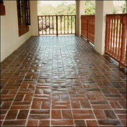 Red Brick Tile Flooring Floor Tiles Like A Brick Old House