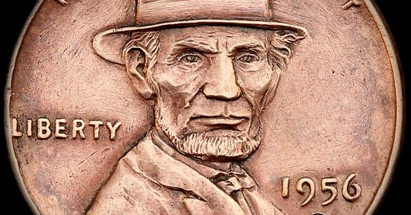Quot Lincoln S Top Hat Quot Wheat Penny Engraved By Aleksey