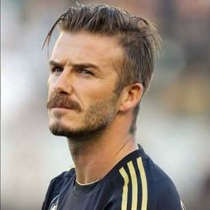 Cool David Beckhams Light Beard David Beckham Hairstyle Beckham Natural Hairstyles Runnerswayorg
