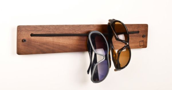 Handmade Sunglass Holder by i wear rack, etsy.com