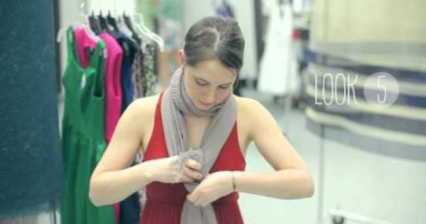 ModCloth How-to: Scarf Tying Video Tutorial. 6 super cute and easy styles!