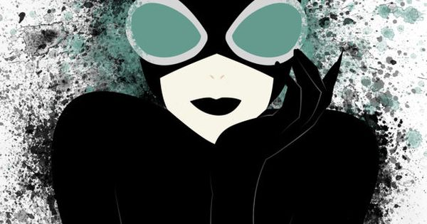 Catwoman by SkeletonsL1ve on Etsy One of my favorite villains/heros (she's rather
