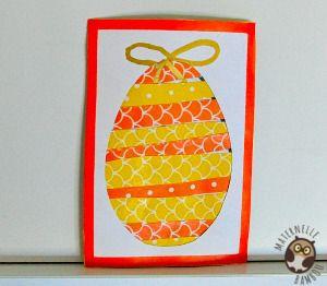 carte de paques maternelle Carte Oeuf de Pâques (avec images) | Oeufs de pâques maternelle