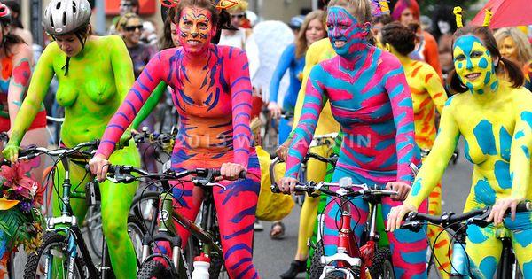 Fremont Solstice Parade   Solstice body paint   Pinterest