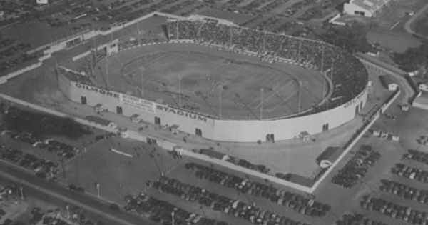 A Guide To The Long Lost Pro Sports Stadiums Of Los Angeles Los Angeles Architecture California History Los Angeles