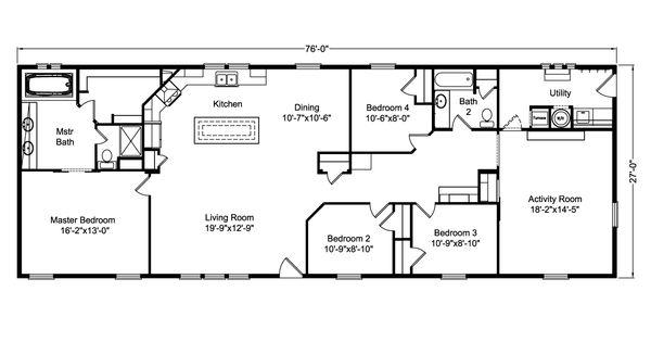 The Casa Grande AD 28764A Home Floor Plan
