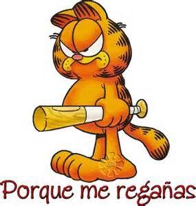 Estar A La Defensiva Y Baja Autoestima Evelyn Guerrero Laubscher Garfield Cartoon Garfield Quotes Grumpy Cat