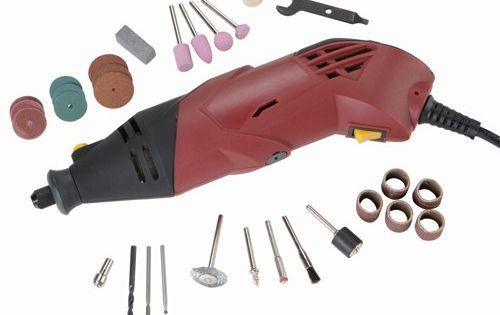 Heavy Duty Variable Speed Rotary Tool Kit 31 Pc Power