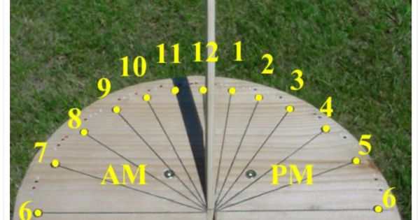 make a sundial free lesson plan for grades 1 3 from eye on the sky math. Black Bedroom Furniture Sets. Home Design Ideas